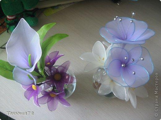 нежная композиция, светлые цветы- цвета ванили, сама нежность фото 8