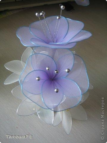 нежная композиция, светлые цветы- цвета ванили, сама нежность фото 1
