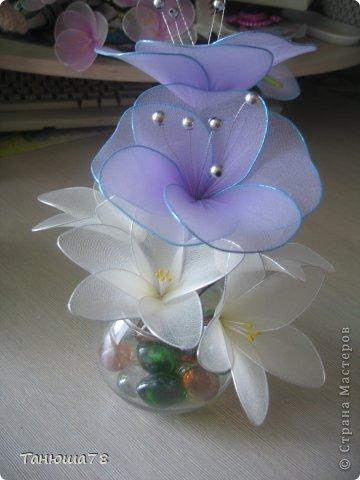 нежная композиция, светлые цветы- цвета ванили, сама нежность фото 2