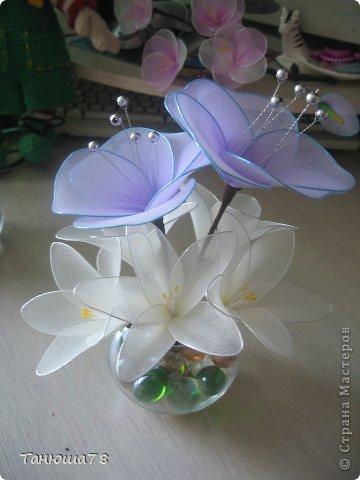 нежная композиция, светлые цветы- цвета ванили, сама нежность фото 3