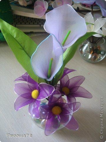 нежная композиция, светлые цветы- цвета ванили, сама нежность фото 5