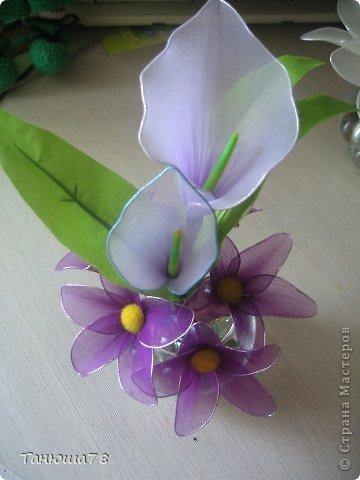 нежная композиция, светлые цветы- цвета ванили, сама нежность фото 7
