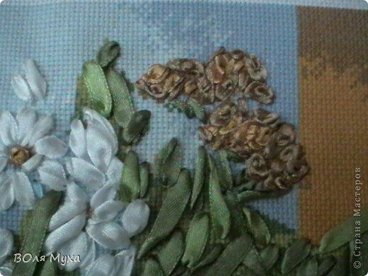 Здравствуйте, дорогие друзья. Вот наконец-то сделана моя вышивка, которая чудесно вписалась в интерьер нашей кухни. Буду рада услышать ваши отзывы по поводу этой работы:) фото 5