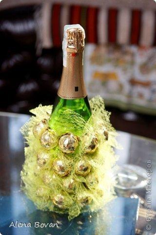 Здравствуйте, дорогие соседи!! увидела на просторах ин-эта ананас, который очень мне понравился, и решила такой сделать подружке на День рождения, что получилось судить Вам... фото 5