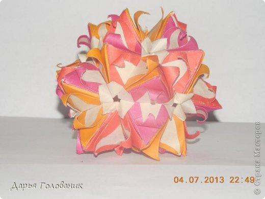 Name: Galatea Designer: Uniya Filonova Units: 30 Paper: 4*12 cm (1:3) Final height: ~ 10 cm Joint: no glue  фото 1