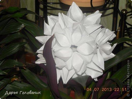 Name: Galatea Designer: Uniya Filonova Units: 30 Paper: 4*12 cm (1:3) Final height: ~ 10 cm Joint: no glue  фото 2