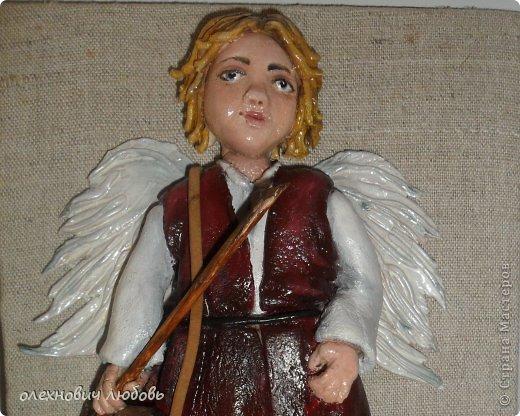 Ангел из соленого теста фото 2