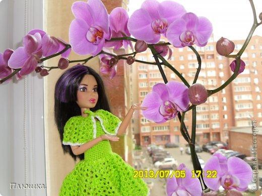 Здравствуйте! Хочу показать вам новое  платье Иры.  Это с накидкой. фото 6