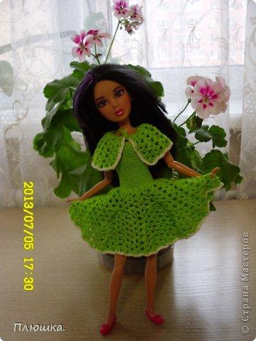 Здравствуйте! Хочу показать вам новое  платье Иры.  Это с накидкой. фото 1