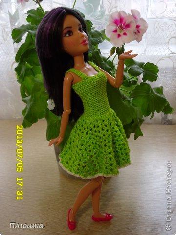 Здравствуйте! Хочу показать вам новое  платье Иры.  Это с накидкой. фото 2