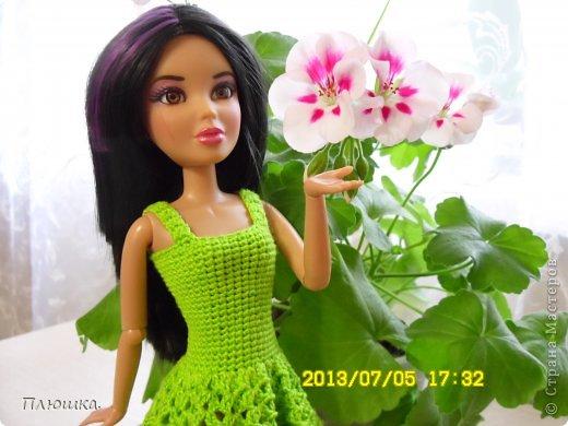 Здравствуйте! Хочу показать вам новое  платье Иры.  Это с накидкой. фото 3