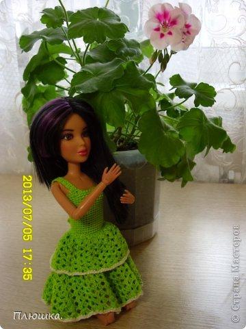 Здравствуйте! Хочу показать вам новое  платье Иры.  Это с накидкой. фото 4
