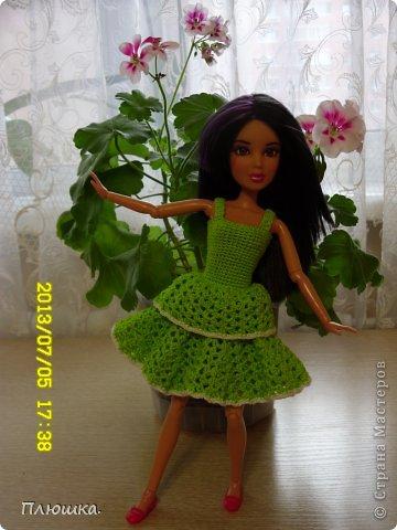 Здравствуйте! Хочу показать вам новое  платье Иры.  Это с накидкой. фото 5