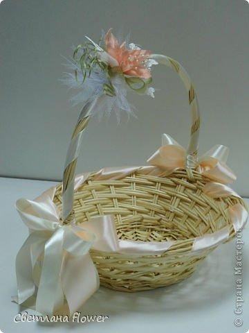 Семейный очаг для моложоженов! (Все цветы выполены из нажелатининого креп-сатина и обработаны бульками). фото 6