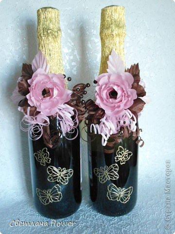 Семейный очаг для моложоженов! (Все цветы выполены из нажелатининого креп-сатина и обработаны бульками). фото 7