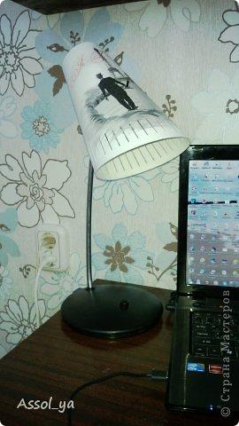 Всем привет))) Решила чуток преобразить лампу-старушку. фото 13