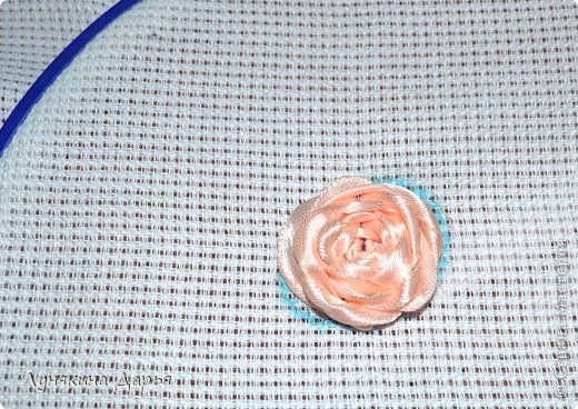 Мастер-класс Вышивка Вышивка лентами для новичков МК Ленты фото 16