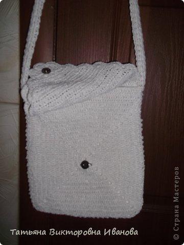 """Доброго времени суток дорогие мои жители нашей страны! И вновь я представляю новую коллекцию сумок из моих любимых пакетов. Первая сумка пляжная связана в подарок коллеге по работе. Я её назвала """"Подсолнух"""". фото 17"""