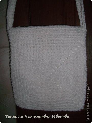 """Доброго времени суток дорогие мои жители нашей страны! И вновь я представляю новую коллекцию сумок из моих любимых пакетов. Первая сумка пляжная связана в подарок коллеге по работе. Я её назвала """"Подсолнух"""". фото 18"""