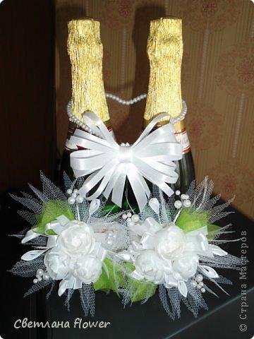 Семейный очаг для моложоженов! (Все цветы выполены из нажелатининого креп-сатина и обработаны бульками). фото 40