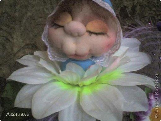 Здравствуйте жители СМ.Из цветочка родился мальчуган. Опять спит, и за малым не похрапывает. фото 1