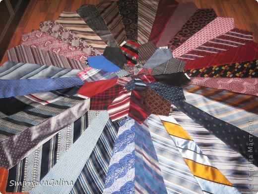 Скатерть из галстуков   фото 3