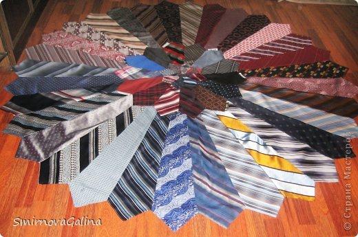 Скатерть из галстуков   фото 4