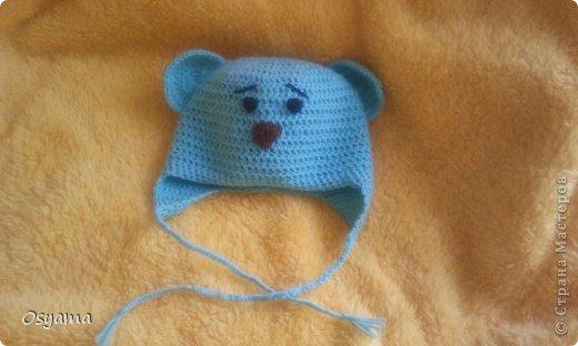 Летняя шапочка для новорожденного