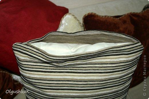 Моя первая сумочка из кожзама и ткани, внутри синтепон, подкладка, один карман. фото 11