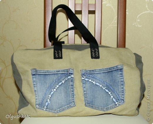Моя первая сумочка из кожзама и ткани, внутри синтепон, подкладка, один карман. фото 15