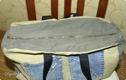 Моя первая сумочка из кожзама и ткани, внутри синтепон, подкладка, один карман. фото 16