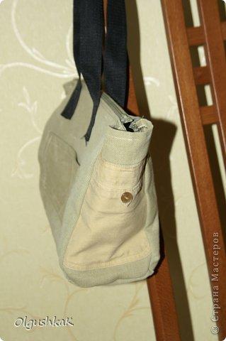 Моя первая сумочка из кожзама и ткани, внутри синтепон, подкладка, один карман. фото 17