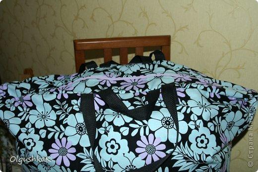 Моя первая сумочка из кожзама и ткани, внутри синтепон, подкладка, один карман. фото 25