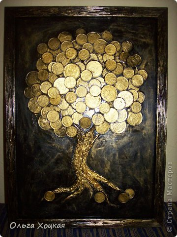 Дерево из монеток своими руками фото 271