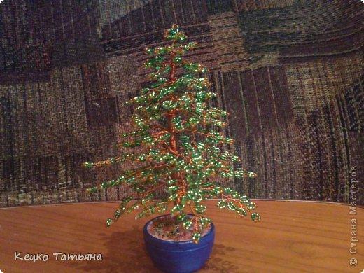 Набор для плетения деревьев из бисера MAGIRA.  Бонсай, бисер, проволока.