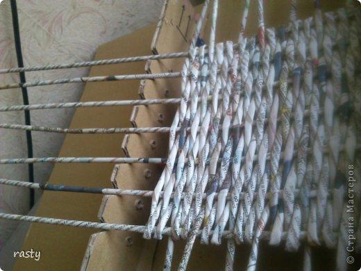 Материалы и инструменты Плетение Станки для плетения прямоугольного дна Бумага газетная Трубочки бумажные фото 1