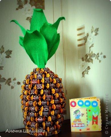 На день рождение мальчику сделали вот такой ананас. фото 3