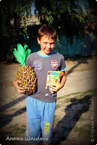 На день рождение мальчику сделали вот такой ананас. фото 5