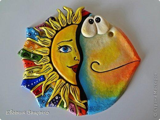 Поделка изделие Лепка Рыбки из солёного теста Тесто соленое фото 2