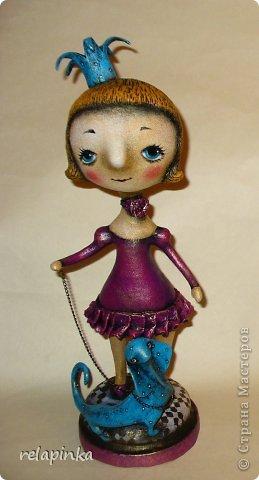 Куклы День рождения Папье-маше Принцесса и дракон Бумага фото 1