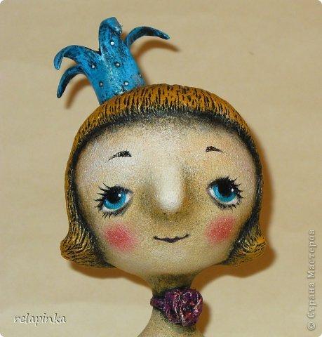 Куклы День рождения Папье-маше Принцесса и дракон Бумага фото 2
