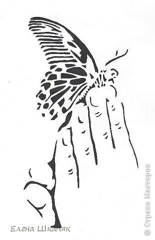 Картина панно рисунок Открытка Вырезание Новые работы Бумага фото 11