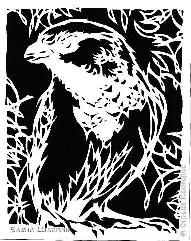 Картина панно рисунок Открытка Вырезание Новые работы Бумага фото 16