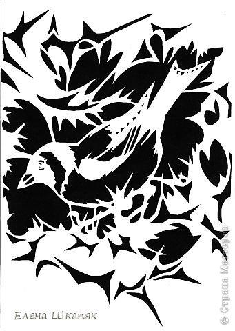 Картина панно рисунок Открытка Вырезание Новые работы Бумага фото 17