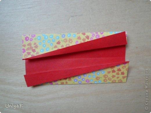 Мастер-класс Кусудама Оригами Le Rose Screziate Туториал Бумага фото 4