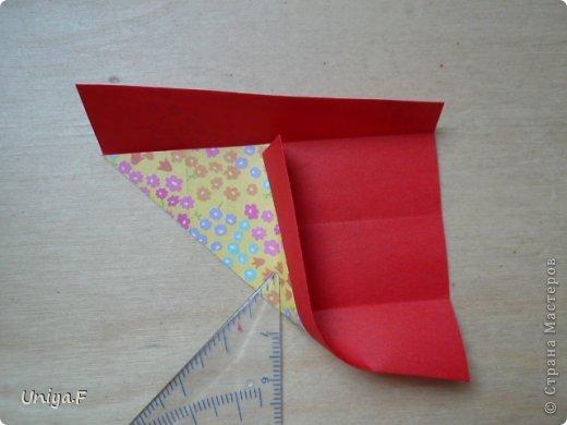 Мастер-класс Кусудама Оригами Le Rose Screziate Туториал Бумага фото 6