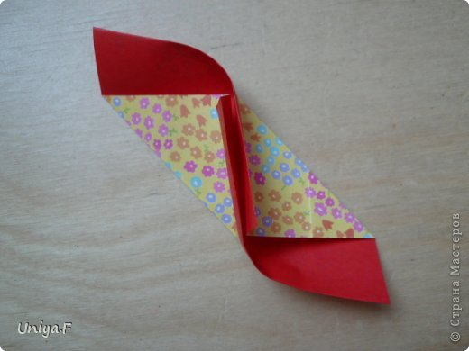 Мастер-класс Кусудама Оригами Le Rose Screziate Туториал Бумага фото 7