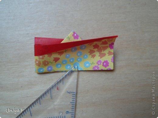 Мастер-класс Кусудама Оригами Le Rose Screziate Туториал Бумага фото 9