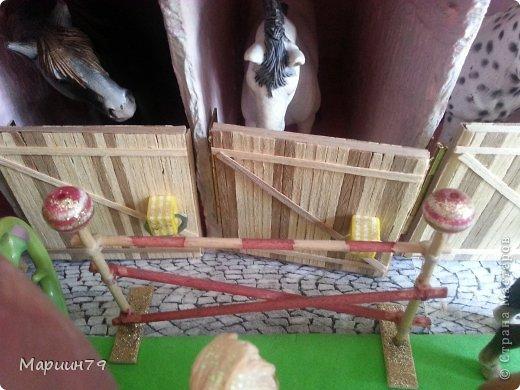 Конюшня для лошадей Schleich фото 15