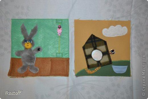Игрушка Мастер-класс Раннее развитие День рождения Новый год Шитьё МК по сборке книги из ткани Ткань фото 2